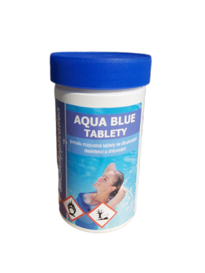 Aqua Blue Pomalu rozpustné tablety na úpravu bazénové vody 1 kg(AB-0001)
