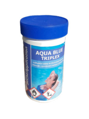 AB Triplex Multifunkční tablety pro úpravu bazénové vody 1 kg(AB-0004)