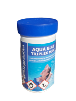AB triplex Mini Multifunkční  minitablety pro úpravu bazénové vody 1 kg(AB-0007)