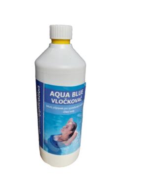 Aqua Blue vločkovač tekutý prostředek k vyvločkování nečistot bazénové vody 1 l(AB-0022)