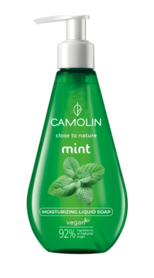 Camolin - tekuté mýdlo, máta 300 ml(CAM-0016)