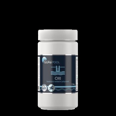GUAa POOL OXI bezchlórový oxidační přípravek 1,3 kg(CGU-0010)