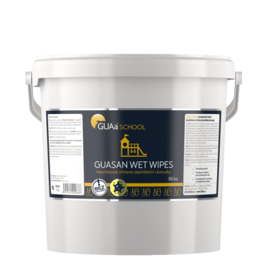 GUAa School GUASAN WET WIPES dezinf. ubrousky 90ks  (CGU-0025)