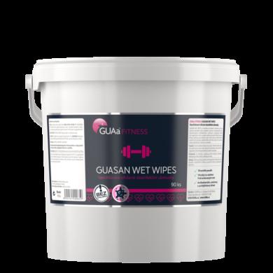 GUAa Fitness GUASAN WET WIPES Bezchlór. vlhč. dezinfekční ubrousky 90ks(CGU-0045)