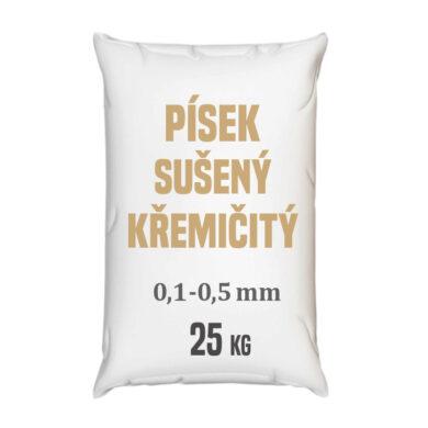 Distripark Písek sušený křemičitý - frakce 0,1 - 0,5 mm - 25 kg(CPI-0005)