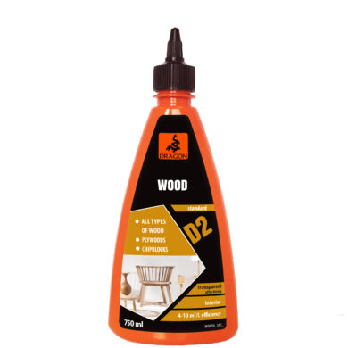 DRAGON Wood adhesive D2 750 ml lepidlo na dřevo(DKDR750_2_INT1G)