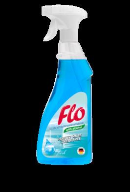 FLO WINDOW CLEANER ALCOHOL čisticí prostředek na okna 500 ml(FL-0023)