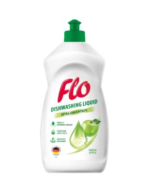 FLO přípravek na mytí nádobí  GREEN APPLE 450 ml(FL-0054)