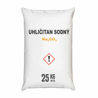 Uhličitan sodný, kalcinovaná soda 25 kg(KCP-00014)