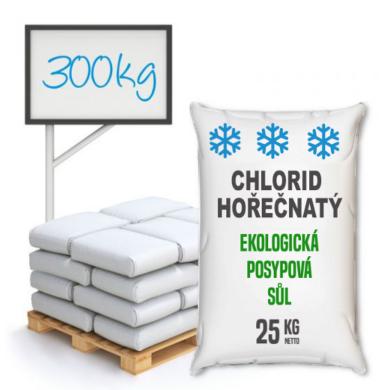 Chlorid hořečnatý technický, distripark 300 kg(KOS-00005)