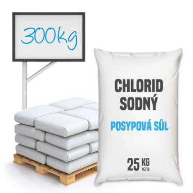 Posypová sůl - chlorid sodný 300 kg(KOS-00011)