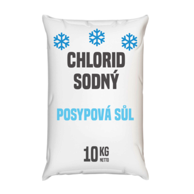 Posypová sůl  - chlorid sodný 10 kg(KOSCZ-010)