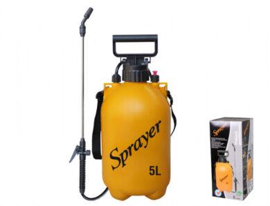 Postřikovač SPRAYER tlakový ramenní 5l(NG-02631žl)