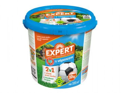 Hnojivo EXPERT trávníkové 2v1 s vápencem Forestina 10kg(NG-0988)