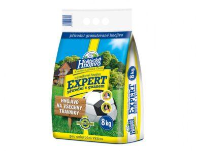Hnojivo HOŠTICKÉ EXPERT přírodní na trávník s guánem Forestina 8kg(NG-1006)
