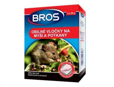 BROS obilné vločky na myši a potkany 5 x 20 g(NG-5604_CCR)