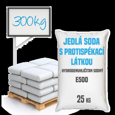 Jedlá soda s protispékací látkou, E500 (ii) 300 kg(SO-0002)