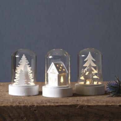 Sada 3 světelných dekorací Kupol(ST064-90)