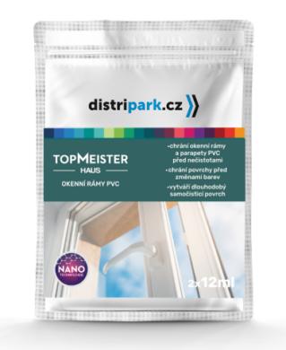 TopMeister Haus - ubrousky k impreg. okenních rámů PVC 2 x 12 ml(TMH-0006)
