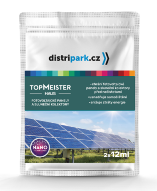 TopMeister Haus - ubrousky k impreg. fotov. panelů, sluneč. kol. 2x12 ml(TMH-0007)