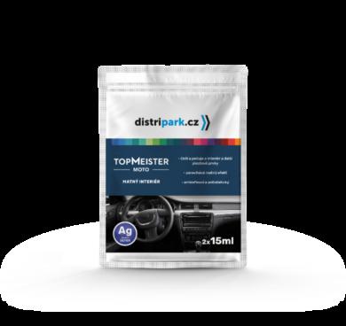 TopMeister Moto matný interiér - ubrousky k péči o palubní desku 2x15ml(TMM-0002)