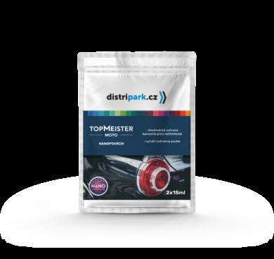 TopMeister Moto nanopovrch - ubrousek nano na lak za mokra 2 x 15ml(TMM-0007)