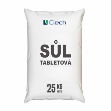 Tabletová sůl, chlorid sodný 25 kg(TSCZ-0025)