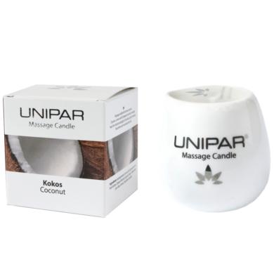 Masážní vonná svíčka Coconut Ceramic Unipar 85ml(UNI-0002)