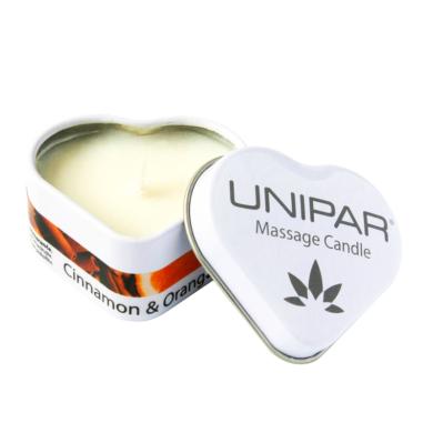 Masážní svíčka Cinnamon/Orange Tin Unipar(UNI-0005)