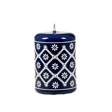 Svíčka s motivem z Valašska - modrá 50x70 Unipar(UNI-0015)