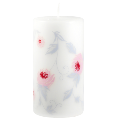 Svíčka Wild Rose Pink 80x150 Unipar(UNI-0026)