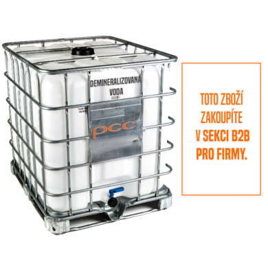 Demineralizovaná voda, deionizovaná, IBC 1000 l(WD-00002R)