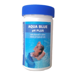Aqua Blue pH Plus prostředek ke zvýšení pH bazénové vody 1 kg-Aqua Blue pH plus je rychlorozpustný granulovaný přípravek na zvýšení pH bazénové vody. pH plus se vyznačuje jednoduchým dávkováním a okamžitou účinností.