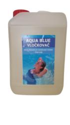 Aqua Blue vločkovač tekutý prostředek k vyvločkování nečistot bazénové vody 3 l-Aqua Blue vločkovač vyvločkuje jemné částečky nečistot tvořící neodfiltrovanou suspenzi - zákal vody. Umožní dokonalé vysrážení těchto nečistot do větších vloček a jejich následné odfiltrování nebo sedimentaci a dodá vodě žádanou jiskru jako u pramenité vody. Reaguje velmi rychle, nezávisle na teplotě vody. Zlepšuje účinnost filtrace, pomáhá prodlužovat životnost pískové náplně.