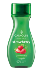 Camolin - sprchový gel dámský, jahoda 265 ml-Sprchový gel dámský, jahoda 265 ml Camolin - to je veganská kosmetika určená pro ženy se smyslnou, přírodní vůní jahody. Inovativní receptura gelu, který vyživuje a čistí pokožku z každodenních nečistot, zanechává na pokožce jemnou a delikátní vůni bylin. Obsahuje komplex bylin: ovoce jahodníku, květ topolovky, list šalvěje, květ heřmánku.