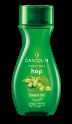 Camolin - sprchový gel pánský, chmel 265 ml-Sprchový gel pánský, chmel 265 ml Camolin - je osvěžující sprchový gel určený pro muže s krásnou vůní chmelu. Jemná receptura gelu čistí a osvěžuje pokožku. Komplex bylin obsažený v gelu má hydratační a pečující vlastnosti. Veganský výrobek. Obsahuje komplex bylin: rozmarýn, tymián, kořen libečku, květ lípy, list máty