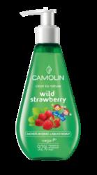 Camolin - tekuté mýdlo, lesní jahoda 300 ml-Tekuté mýdlo Camolin Lesní jahoda 300 ml - jemné tekuté mýdlo Camolin čistí a provoní vaši pokožku svěží vůní lesních jahod. Nové složení mýdla pro děti spojuje hygienu se zábavou mytí rukou.  Produkt určený pro děti od 3 let.  Obsahuje komplex bylin s hydratačním účinkem: rozmarýn, tymián, kořen libečku, květ lípy, list máty.
