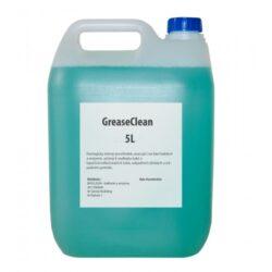 BioClean Grease Clean - přípravek na rozklad tuků 5 l-Biologický čistič potrubí je jedinečný přípravek, který čistí kanalizační potrubí odstraněním tukových nánosů uložených v potrubí, sifonech nebo separátorech. Na stěnách trubek vytváří biologickou membránu, která zabraňuje opětovnému ukládání tuků do kanalizace, odstraňuje nepříjemné pachy. Ideální pro uživatele domácích čistíren.