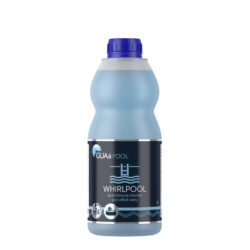 Guasan whirlpool 1 l - bezchlórová chemie pro vířivky-WHIRLPOOL chemie pro vířivky je tekutý, koncentrovaný přípravek pro dezinfekci a hygienické zabezpečení vody ve venkovních a vnitřních, klasických i přenosných vířivkách - whirlpoolech. Má výrazný a dlouhodobý účinek proti mikroorganismům a řasám. Je vhodný i pro profesionální použití.