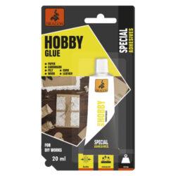 DRAGON Hobby glue 20ml-Po zaschnutí bezbarvé, rychlý účinek, snadná aplikace.  Neobsahuje organická rozpouštědla.  Použití: Určeno pro lepení papíru, lepenky, kartonu, látek, korku, puzzle a pro dekupáž na dřevě. Perfektně kombinuje pružný i tvrdý povrch. Je vhodný pro lepení papíru a lepenky různými fóliemi, např. polyvinylchloridem, polyuretanem a polystyrenem. Lze jej použít ke spojování potištěných a lakovaných povrchů. Lepidlo je určeno pro kreativní činnosti, jako je scrapbooking, ruční tvorba pohlednic a přání a pro lepení hřbetů knih.