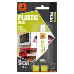 DRAGON Plastic glue 20ml lepidlo na plasty-Velmi rychlé, odolné, vodotěsné, vnitřní i venkovní použití, bezbarvé, tvrdý spoj, teplotní odolnost spár: do + 70 °C  Aplikace: určeno pro opravy např. telefonů, počítačů, elektrického nářadí, domácích spotřebičů, lepení trubek z PVC, okapů a dalších prvků z PMMA (plexisklo), ABS, PVC, nepěnového PS atd