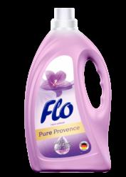 FLO aviváž  PURE PROVENCE 2l-Aviváž Flo Pure Provence je koncentrovaný přípravek s jedinečným složením Easy Iron, který chrání oblečení, zabraňuje elektrizování tkanin a usnadňuje žehlení. Přípravek proniká strukturou tkaniny a zanechává příjemnou vůni levandule, růže a pižma. Výrobek byl dermatologicky testován a je bezpečný jak pro pokožku, tak i pro látku.