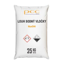 Louh sodný vločky, hydroxid sodný 25 kg