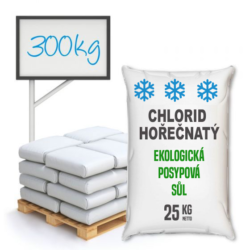 Chlorid hořečnatý technický, distripark 300 kg