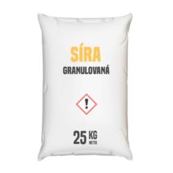Síra granulovaná, distripark 25 kg