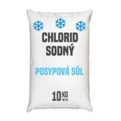 Posypová sůl  - chlorid sodný, distripark 10 kg