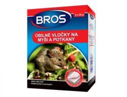 BROS obilné vločky na myši a potkany 5 x 20 g
