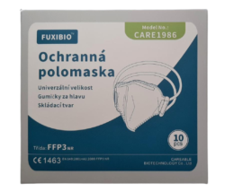 RESPIRÁTOR CARE FFP3 BAL. 10KS