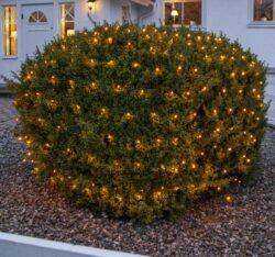 Světelná síť bílá, 160 LED, 200 cm x 200 cm-Světelná dekorace ve tvaru sítě se 160 zlatými teplými bílými LED žárovkami s krásným světlem. Velikost sítě je 2 x 2 m. Ideální pro dekoraci na vaší zahradě.