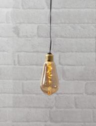 Světelná dekorace Glow zlatá